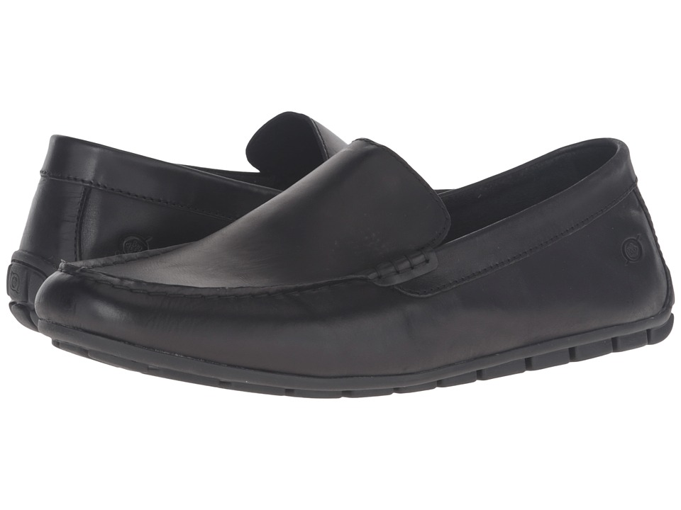 Born - Allan (Black) Mens Slip on  Shoes