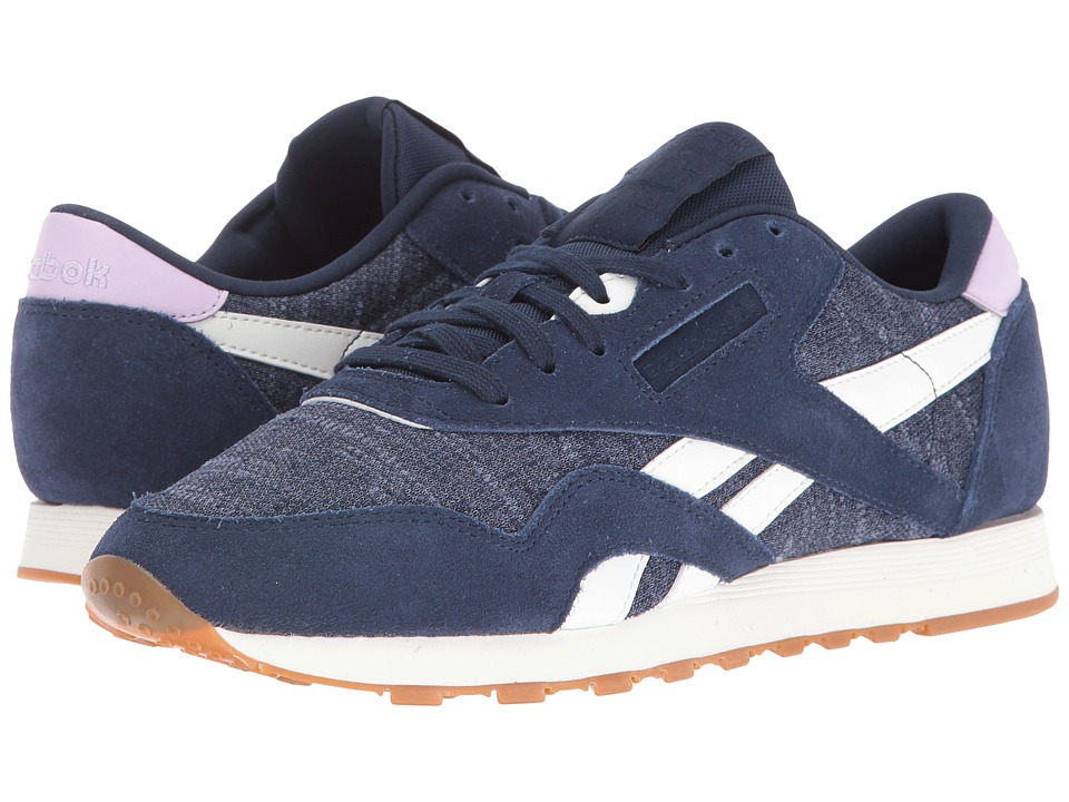Reebok Lifestyle Classic Nylon WR (Collegiate Navy/Royal Slate/Chalk/Purple Freeze) Women