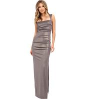 Nicole Miller - Slinky Foil Jersey Felicity Gown