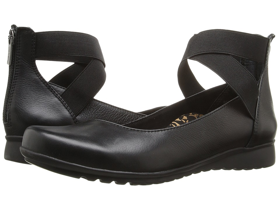 Aetrex Essence Dakota (Black) Women's Shoes