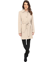 Kenneth Cole New York - Button Front Trench Coat