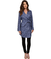 Kenneth Cole New York - Printed Trench Coat