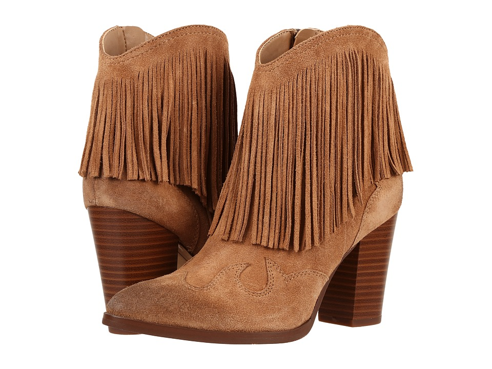 Sam Edelman - Benjie (Golden Caramel Velour Suede Leather) Women