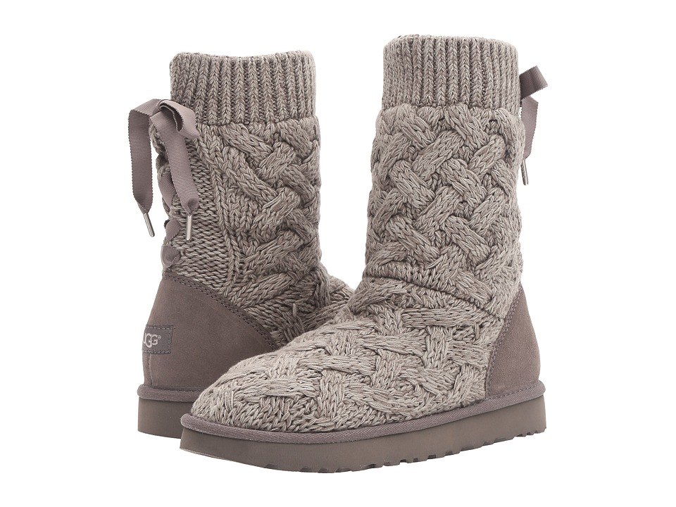 UGG Isla (Heathered Charcoal) Women