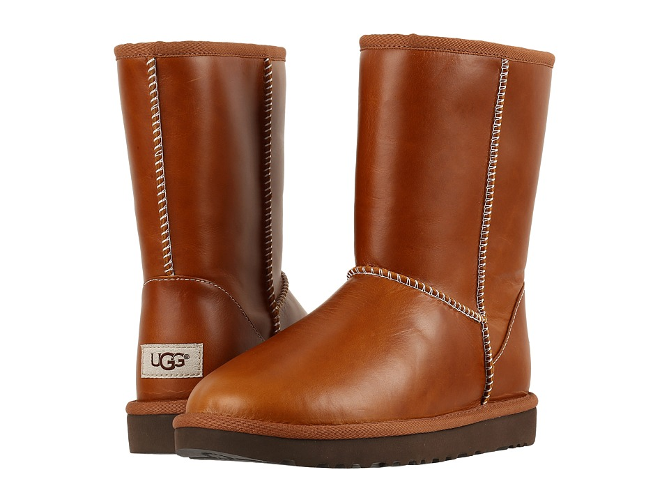 UGG Classic Short Leather (Chestnut 2) Women