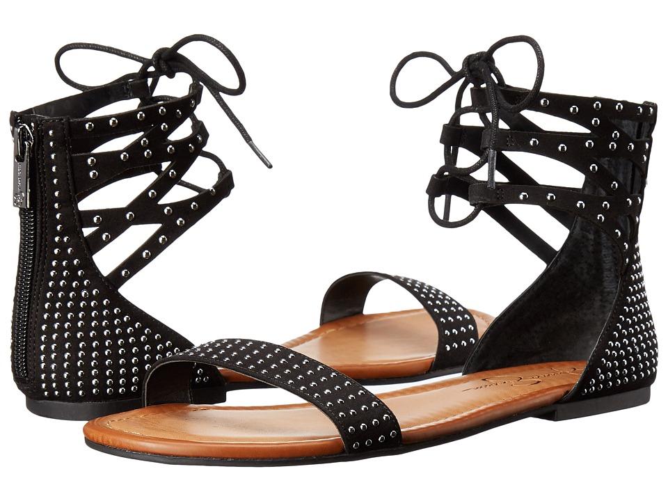 Jessica Simpson Kaduna Black Microsuede Womens Shoes