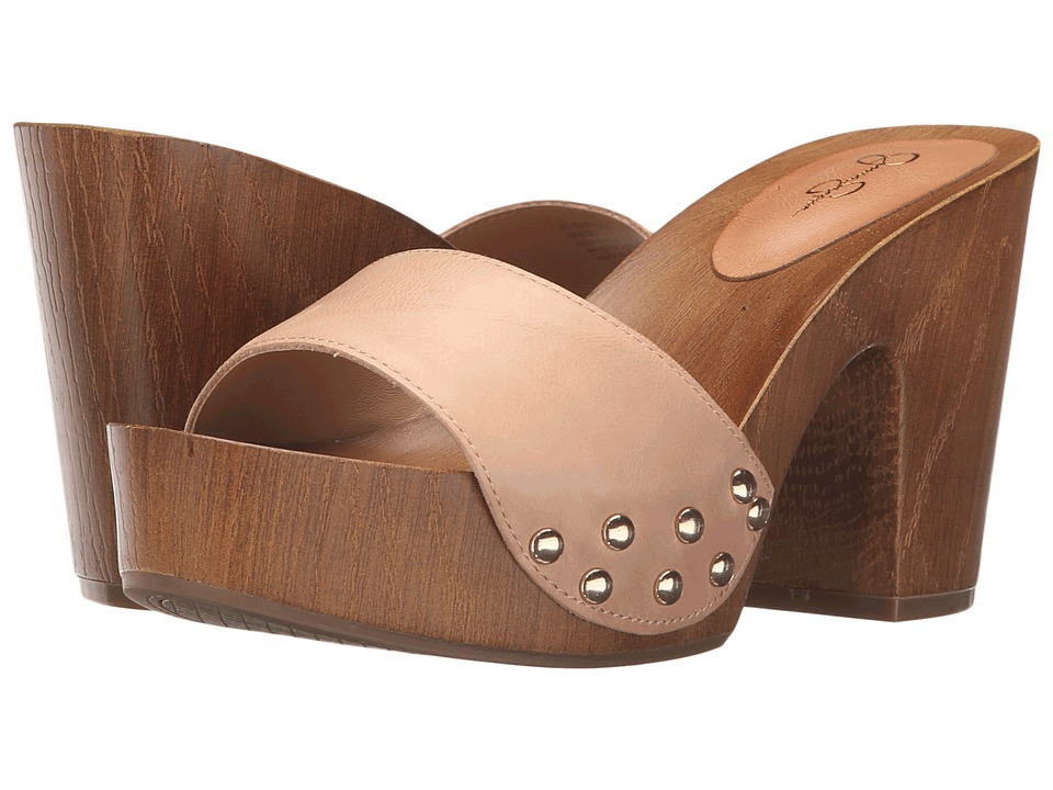 Jessica Simpson Karema Natural Ruby Tumbled Womens Shoes