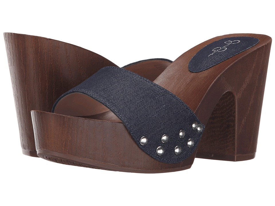 Jessica Simpson Karema Indigo Denim Womens Shoes