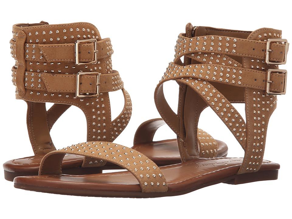 Jessica Simpson Karessa Honey Brown Microsuede Womens Shoes