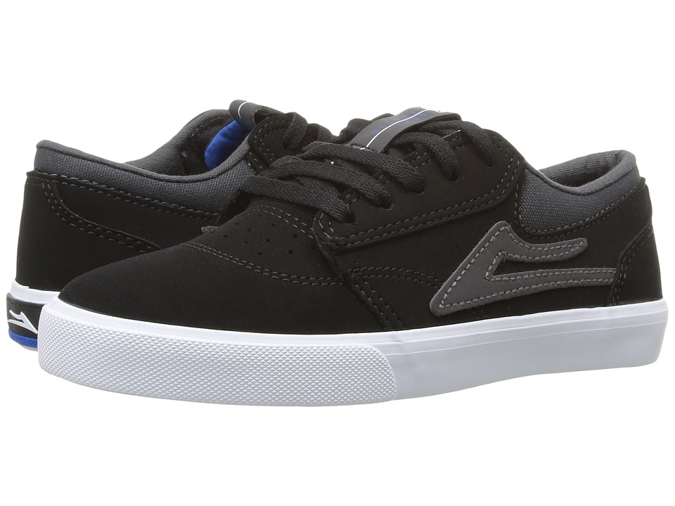 Lakai - Griffin (Little Kid/Big Kid) (Black Synthetic) Men