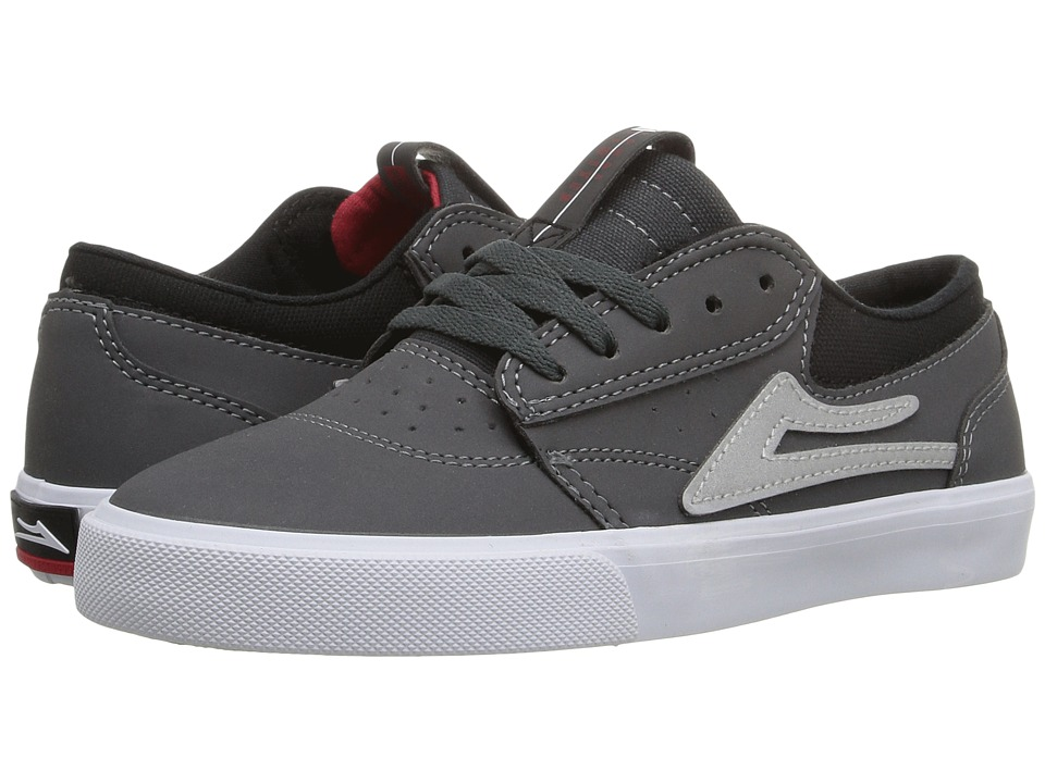 Lakai - Griffin (Little Kid/Big Kid) (Grey Synthetic) Men