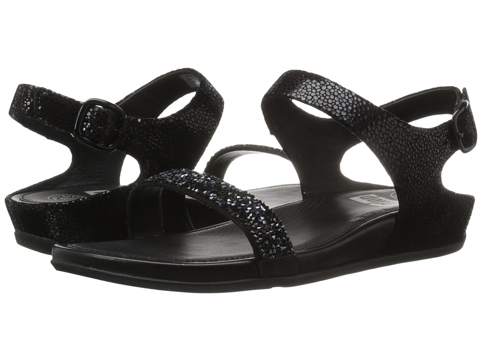 FitFlop - Banda Roxy Sandal (Black) Women