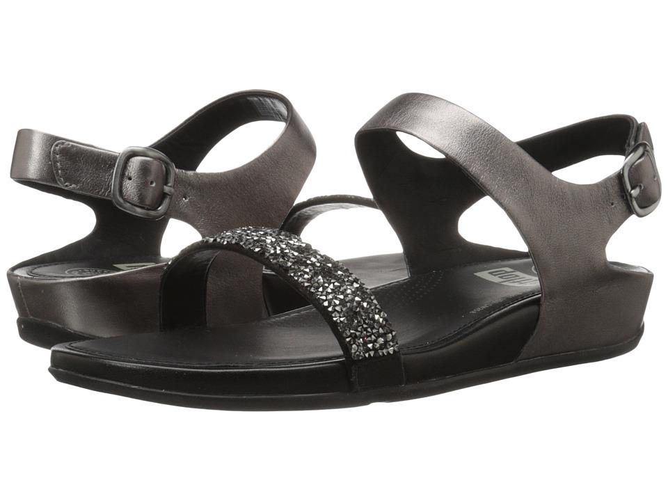 FitFlop Banda Roxy Sandal Pewter Womens Sandals