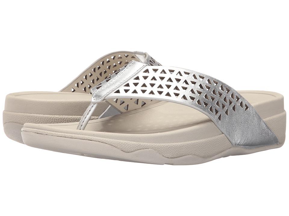FitFlop Lattice Surfa (Silver) Women
