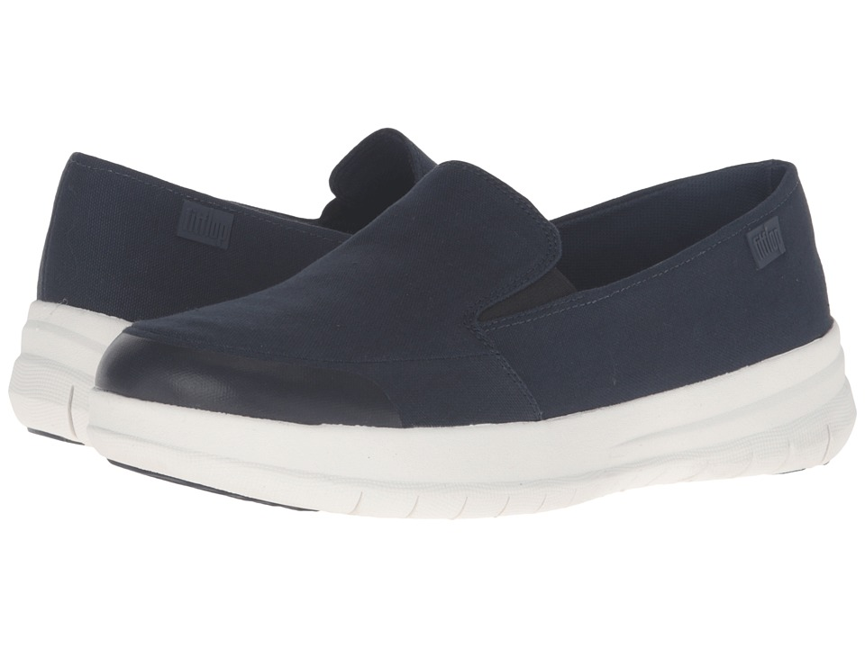 FitFlop Sporty Pop Skate Canvas (Supernavy) Women