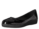 FitFlop - Patent Superballerina (All Black)