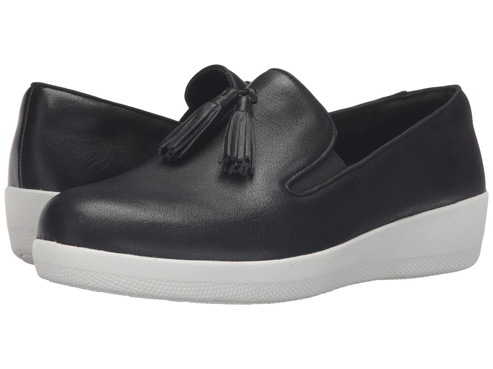 FitFlop Tassel Superskate (Black) Women