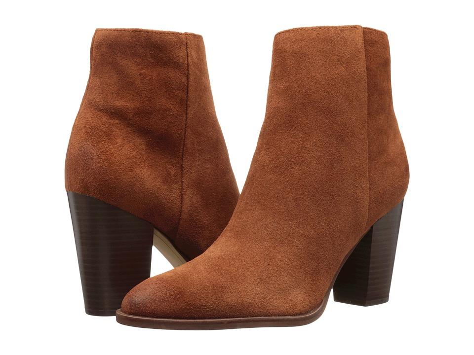 Sam Edelman - Blake (Cinnamon Velour Suede Leather) Women