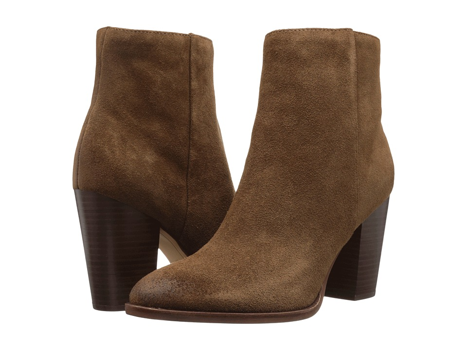 Sam Edelman - Blake (Woodland Brown Velour Suede Leather) Women