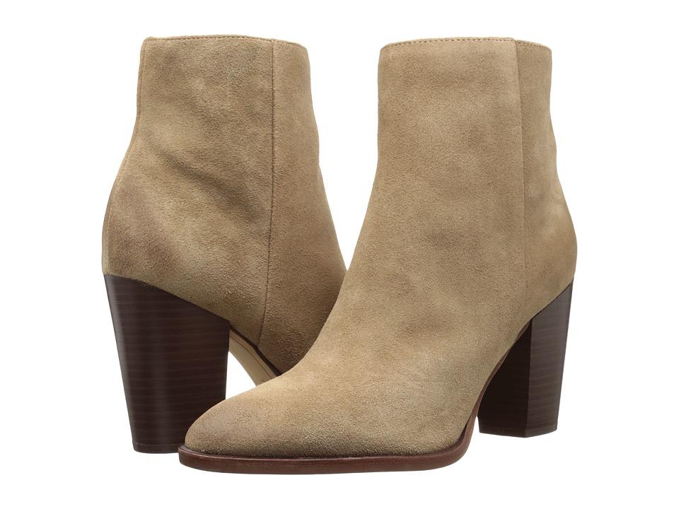 Sam Edelman - Blake (Oatmeal Velour Suede Leather) Women