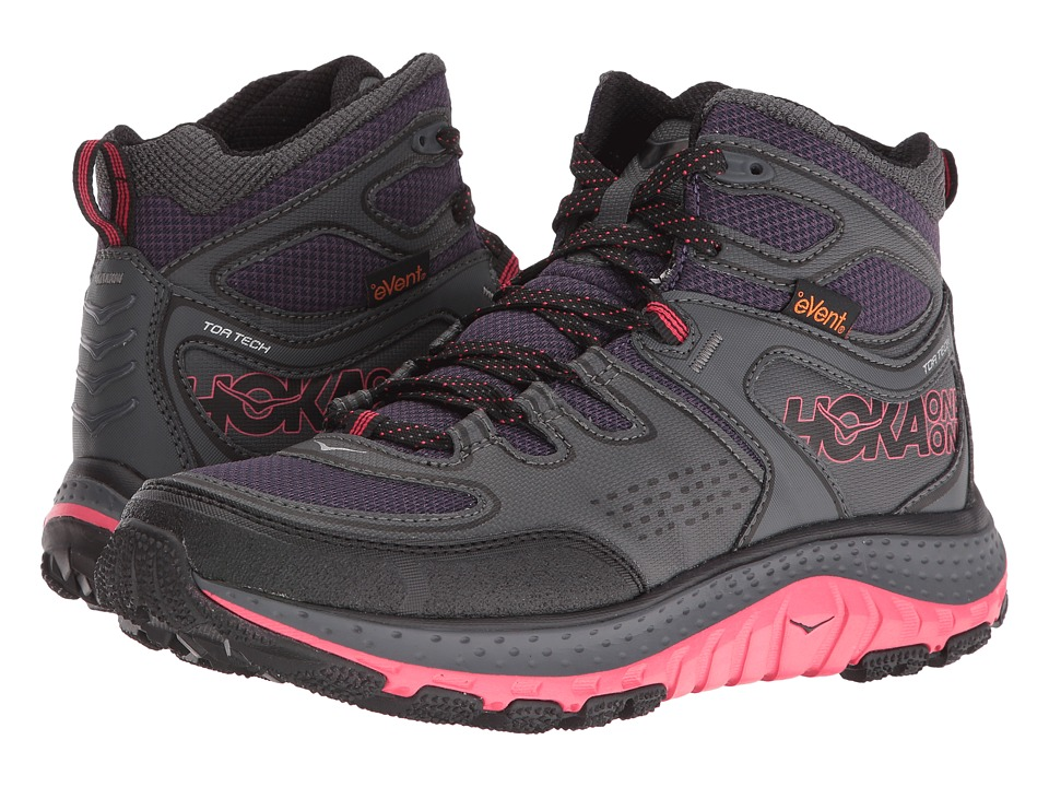 Hoka One One Tor Tech Mid WP (Nightshade/Teaberry) Women