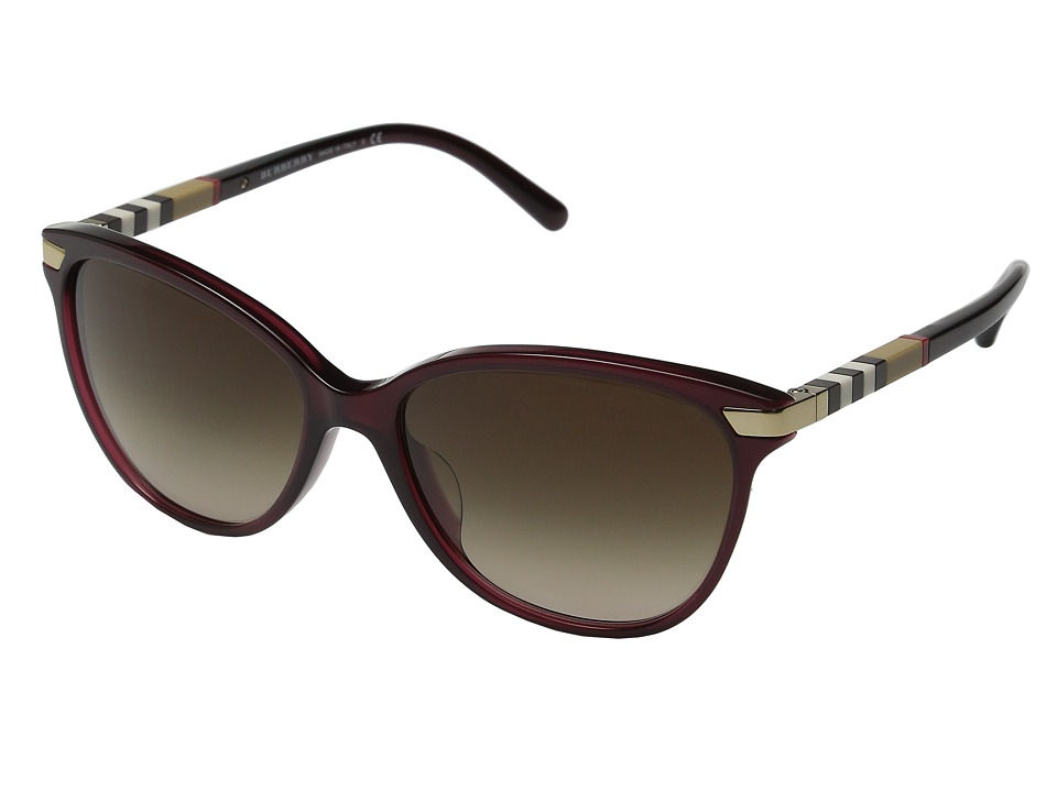 Burberry 0BE4216F Transclucent Oxblood Fashion Sunglasses