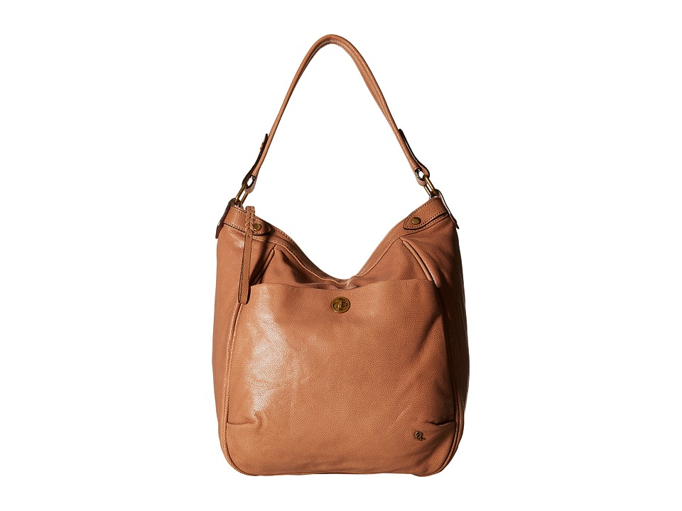 Elliott Lucca - Cerise Bucket Hobo (Almond) Hobo Handbags
