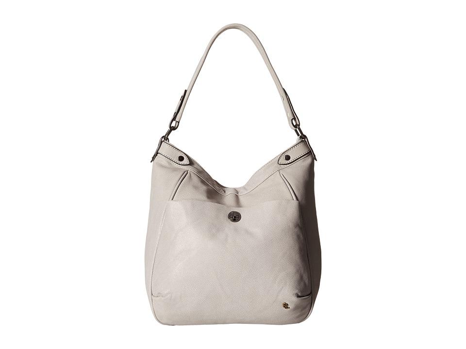 Elliott Lucca - Cerise Bucket Hobo (Cinder) Hobo Handbags
