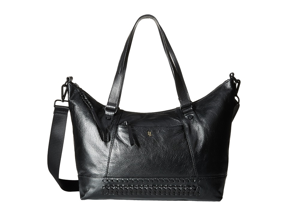 Elliott Lucca - Louie Satchel (Black Semaya) Satchel Handbags