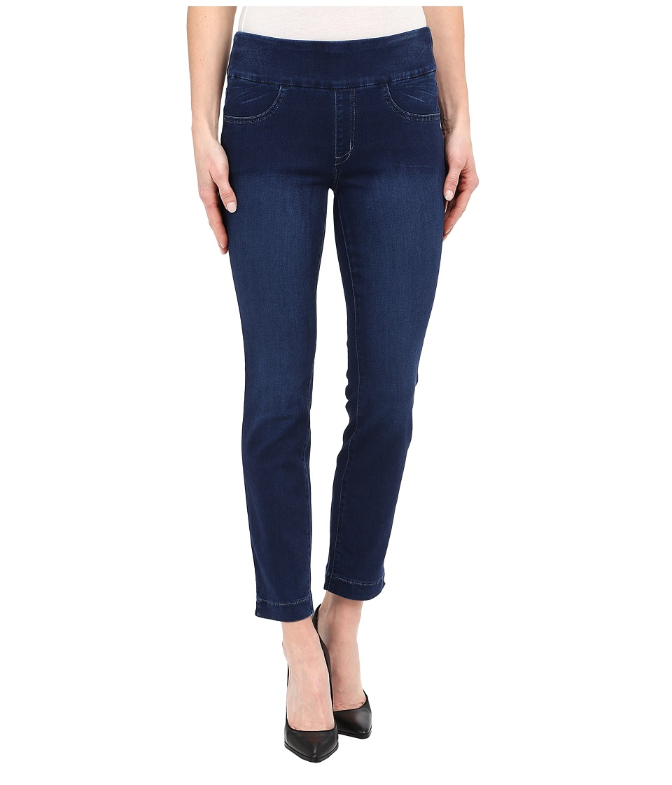 Miraclebody Jeans Andie 28 Ankle Pull On Jeans in Trinidad Blue Trinidad Blue Womens Jeans