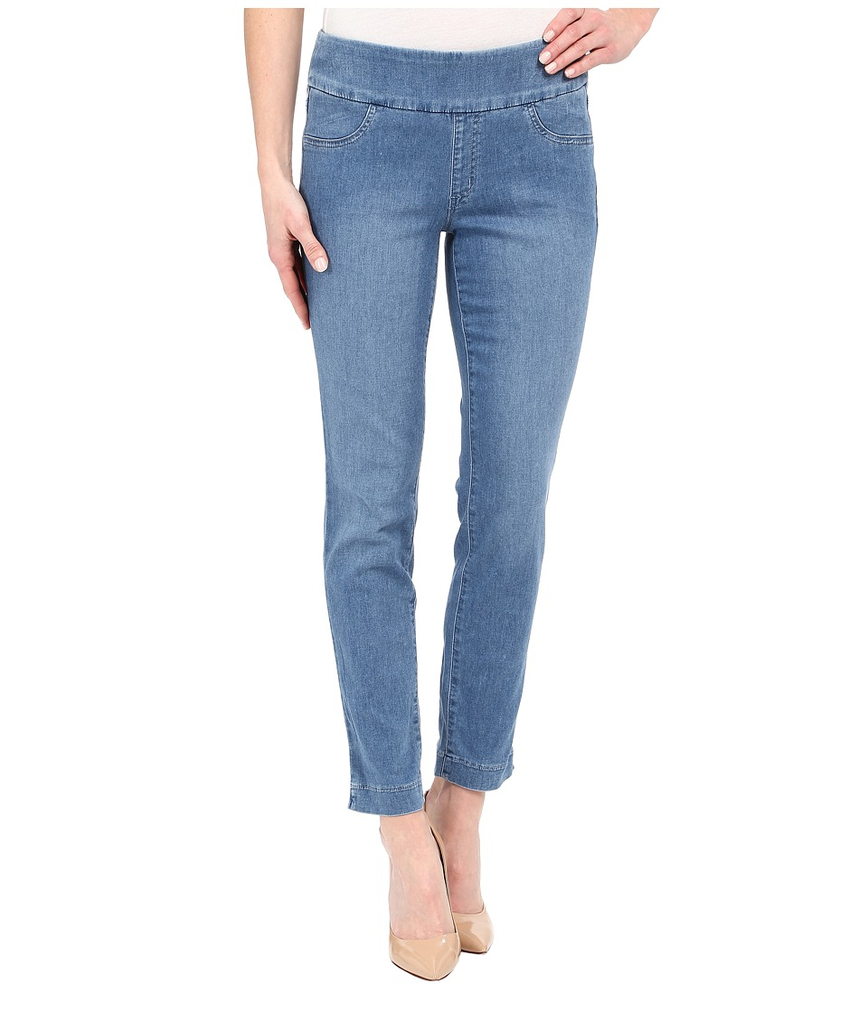 Miraclebody Jeans Andie 28 Ankle Pull On Jeans in Tabago Blue Tabago Blue Womens Jeans