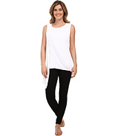 Miraclebody Jeans - Gigi Side Drape Blouse w/ Body-Shaping Inner Shell