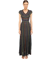 M Missoni - Lurex Micro Stripe Open Back