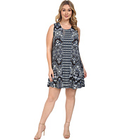 Karen Kane Plus - Plus Size Sleeveless Maggie Trapeze Dress