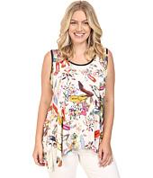 Karen Kane Plus - Plus Size Handkerchief Tank Top