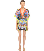 M Missoni - Circus Short Tie Kaftan Cover-Up