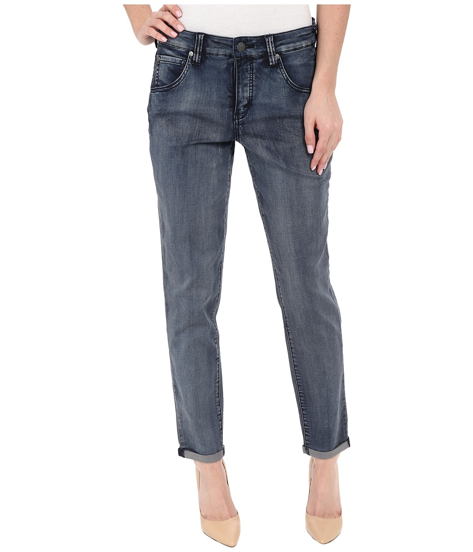 Miraclebody Jeans Brodie Boyfriend Jeans in Avalon Blue Avalon Blue Womens Jeans