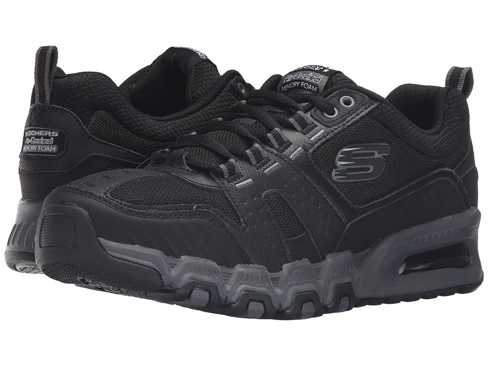 SKECHERS - G-Force Air (Black/Charcoal) Men