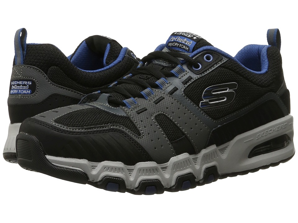 SKECHERS G-Force Air (Charcoal/Black) Men