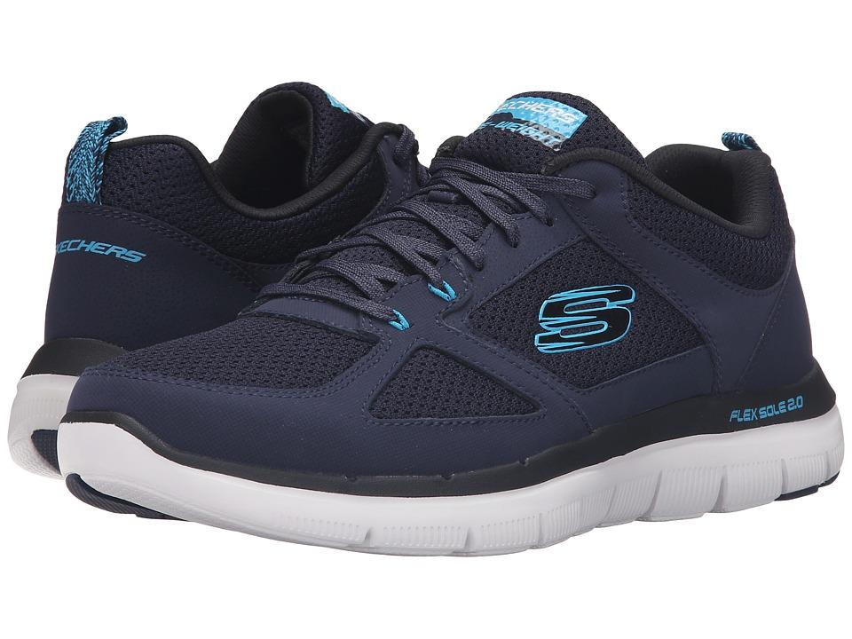 SKECHERS - Flex Advantage 2.0 (Navy/Blue) Men