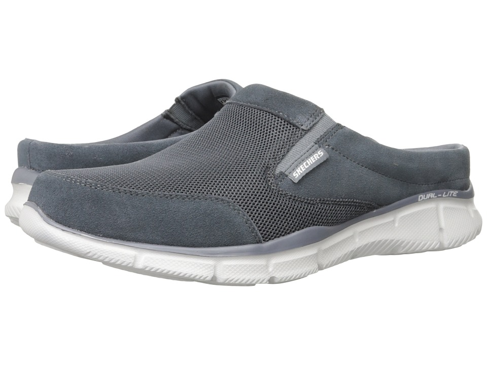 SKECHERS Equalizer Coast To Coast Charcoal Mens Lace up casual Shoes