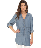 Miraclebody Jeans - Trish Pocket Tunic w/ Body-Shaping Inner Shell