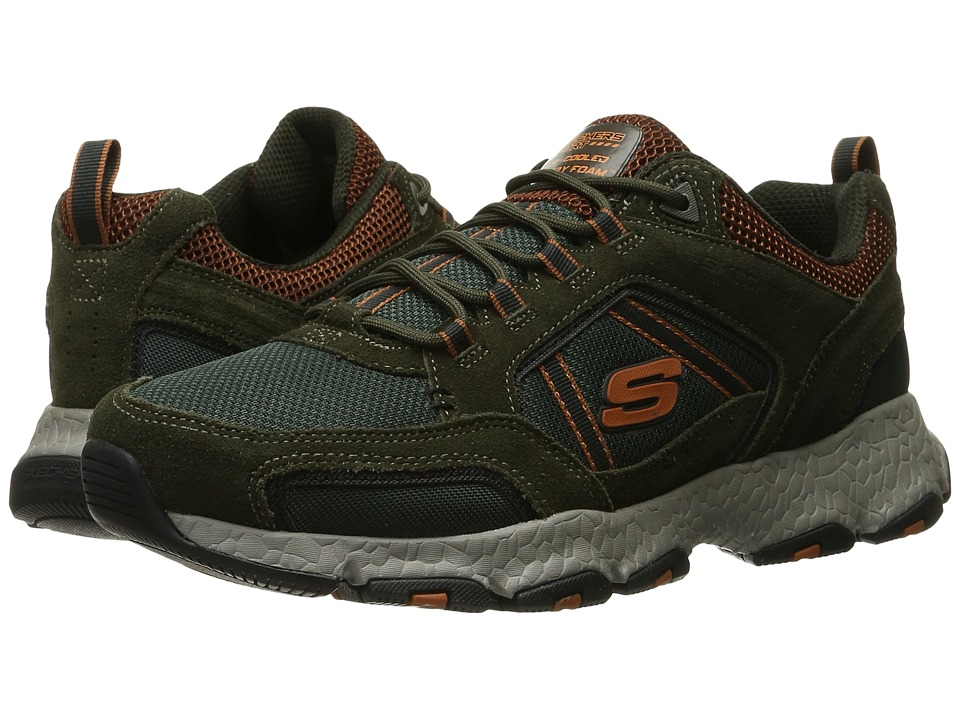 SKECHERS Burst Tech (Olive) Men