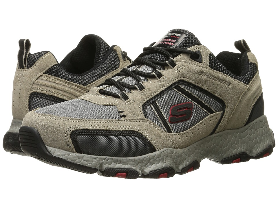 SKECHERS Burst Tech (Taupe/Black) Men