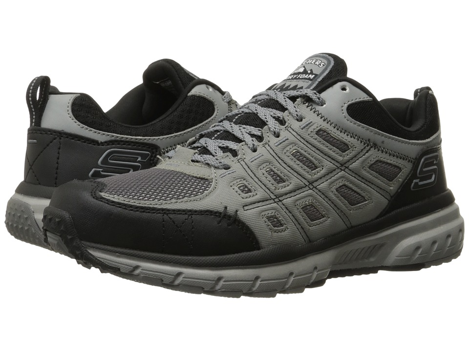SKECHERS Geo Trek (Gray/Black) Men