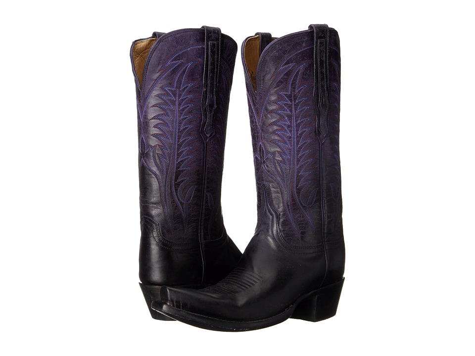Lucchese Maxine (Purple) Cowboy Boots
