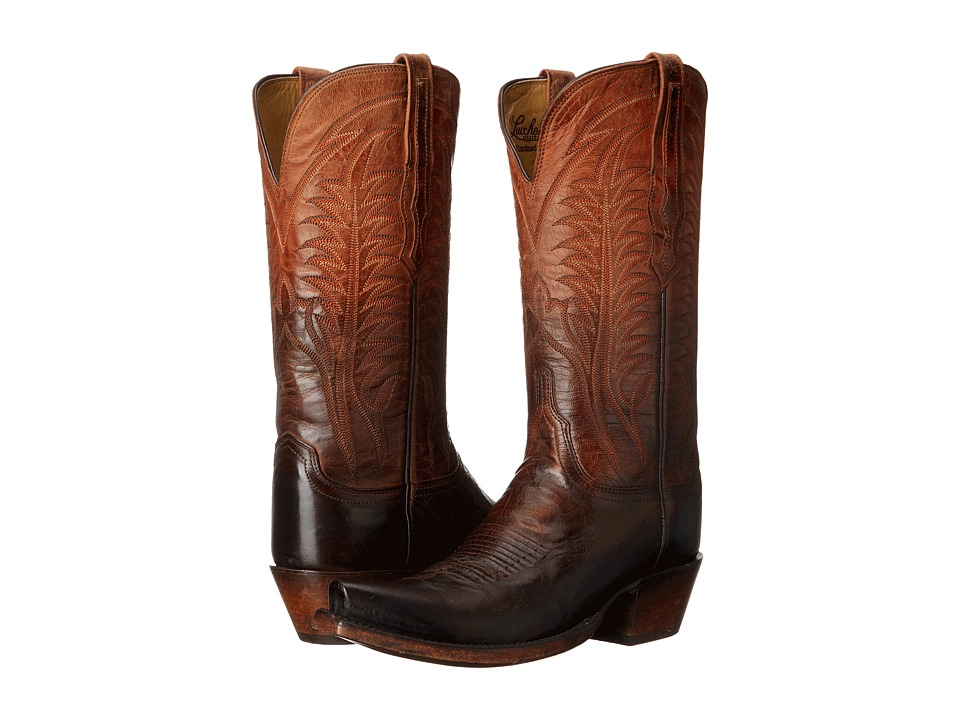 Lucchese - Maxine (Peanut Brittle) Cowboy Boots