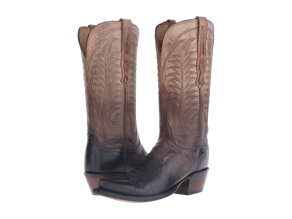Lucchese - HL4518.S54 (Pearl Bone) Cowboy Boots