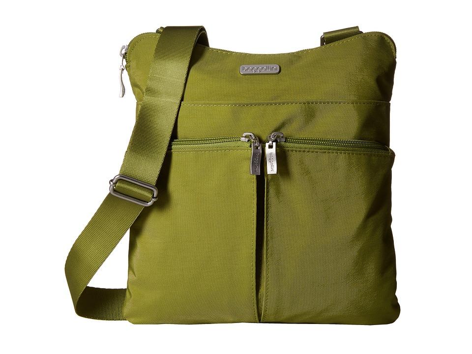Baggallini - Horizon Crossbody (Cactus) Cross Body Handbags