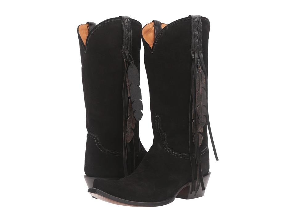 Lucchese Tori (Black) Cowboy Boots
